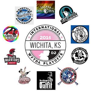 WFTDA D2 Playoffs Wichita 2016