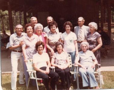1982 Doggett Family Reunion