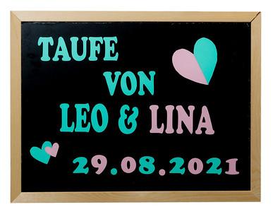 Taufe Lina und Leo