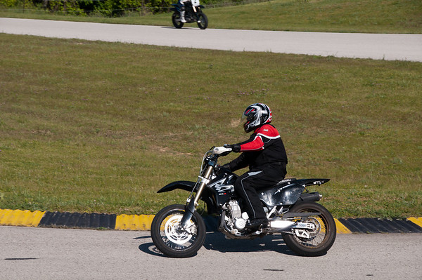 Road America Supermoto Demo Class June 2, 2012