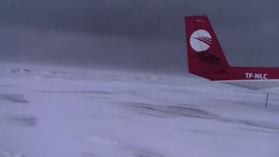Snow Storm NE Iceland