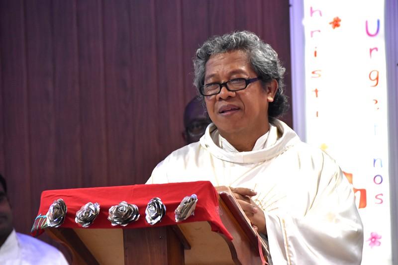 Former general councilor, Fr. Wardjito
