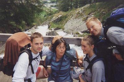 19960802 Kayak holiday Italia with Umyak