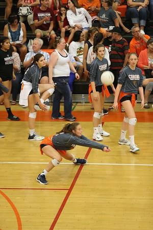 Corona Varsity Volleyball vs Hamilton
