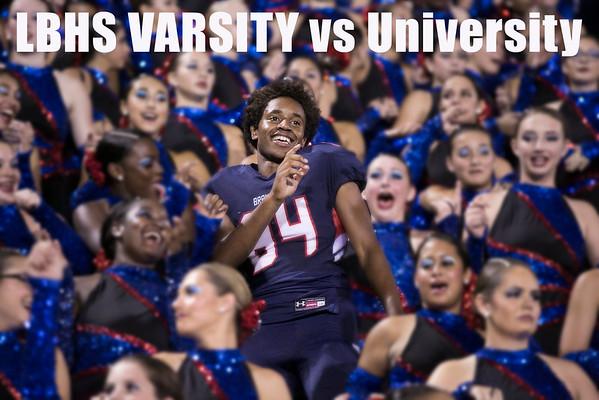 LBHS V FB vs. University - Sept 23, 2016 HOME