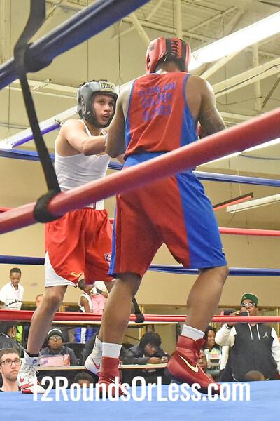 Bout 13 = Main Event, William Flenoy, Red Gloves -vs- Brandon Vega, Blue Gloves, 3 Min. Rds.