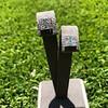 Art Deco Diamond and Emerald Disc Earrings 33