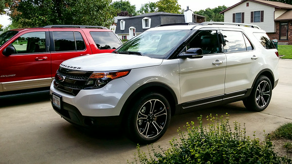 New Car - 2015 Explorer - July 17, 2015