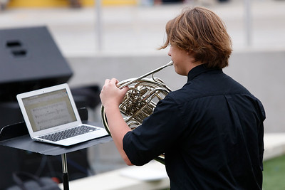 El Paso ISD High School Community Band in Concert