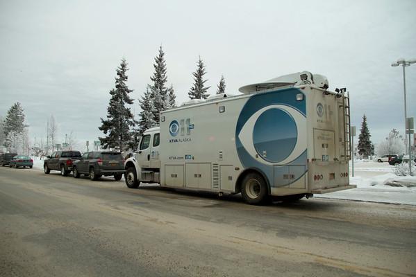 2014 Yukon Quest-Race Day