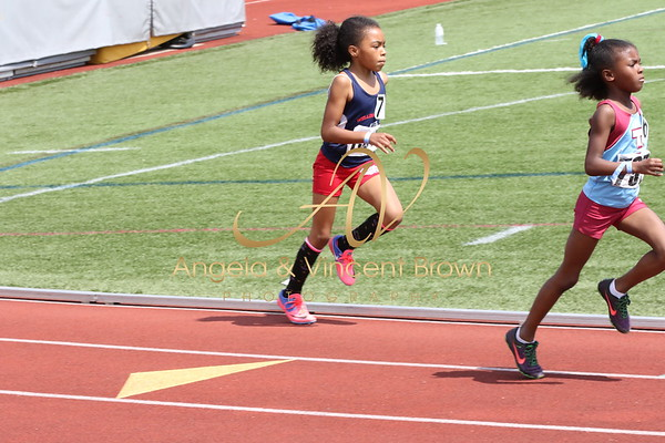 2017 AAU DistQual: 8 and Under Girls 400m