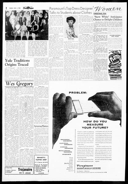 Daily Trojan, Vol. 48, No. 51, December 04, 1956