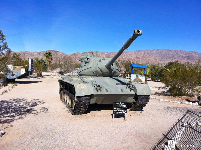 Post WWII M47 Patton tank