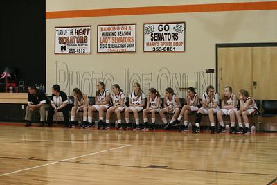 Junior High Girls vs Northwest