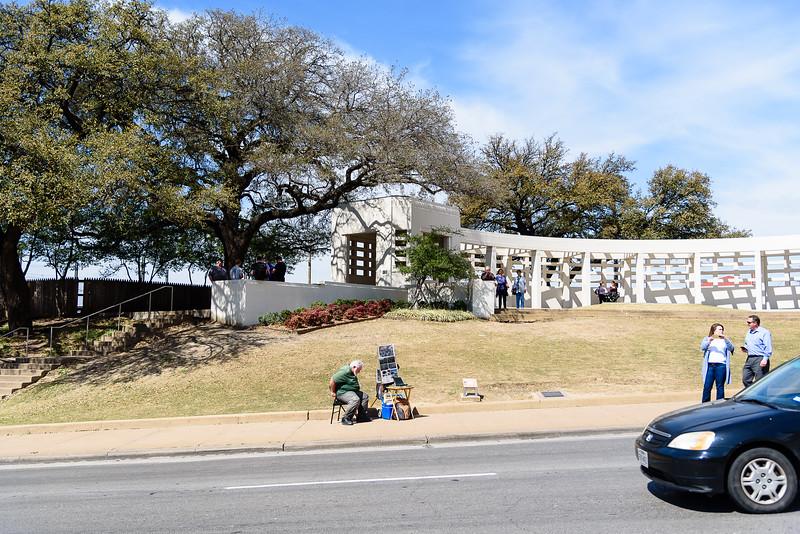 The Dealey Plaza - John F. Kennedy