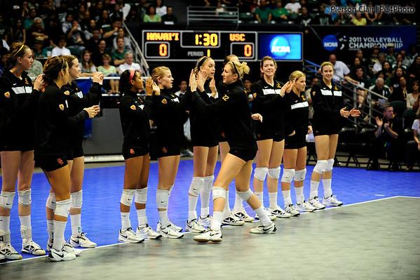 USC Women's Volleyball v Hawaii 2011 (NCAA Round 3)