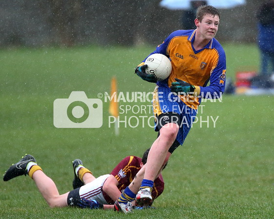 Na Fianna Minor Footballers vs OP-ER 010315