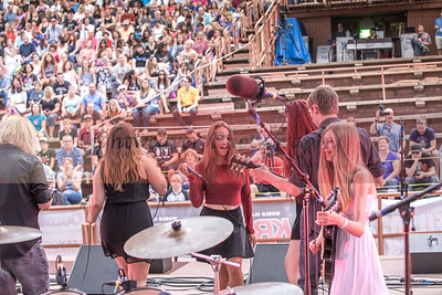 Denver House Band Red Rocks 2016