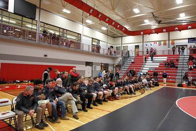 High School Wrestling - 2/14/2018 Team Regionals Comstock Park
