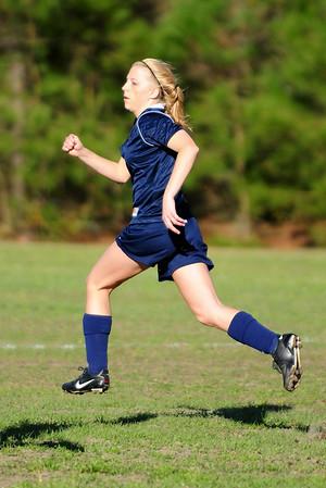 Effingham Girls JV vs Windsor - Soccer 3/12/2008