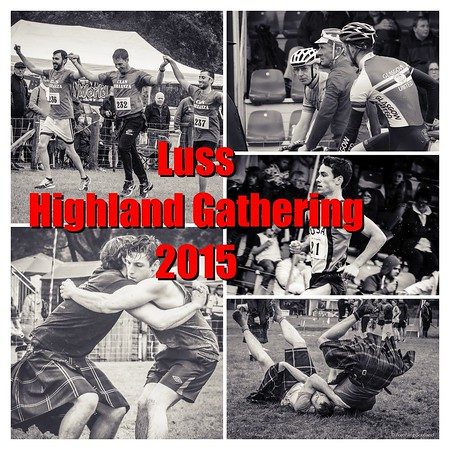 The 2015 Luss Highland Games