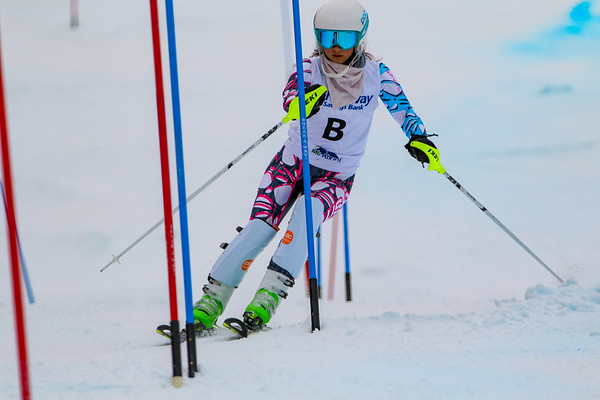 Slalom: Girls 1st Run