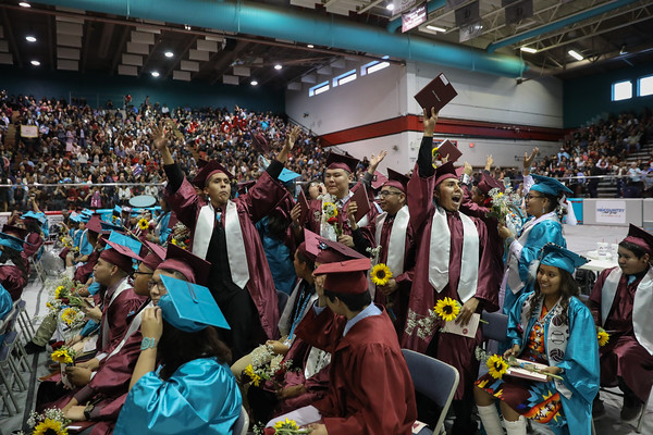 Shiprock High School Commencement 5-24-19