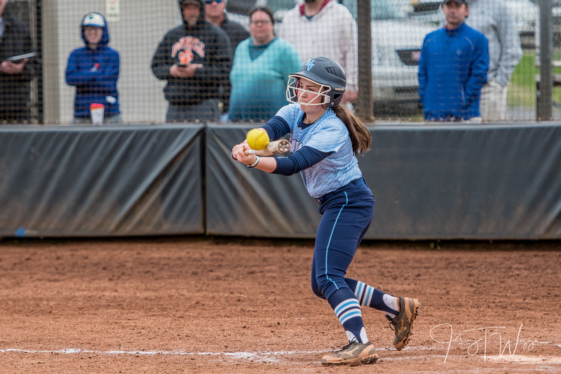 3-30-18 HVA vs Powell Softball