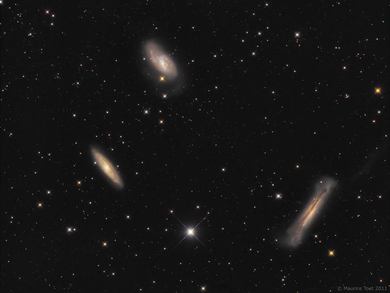 M65, M66 & NGC 3628, Leo Triplet