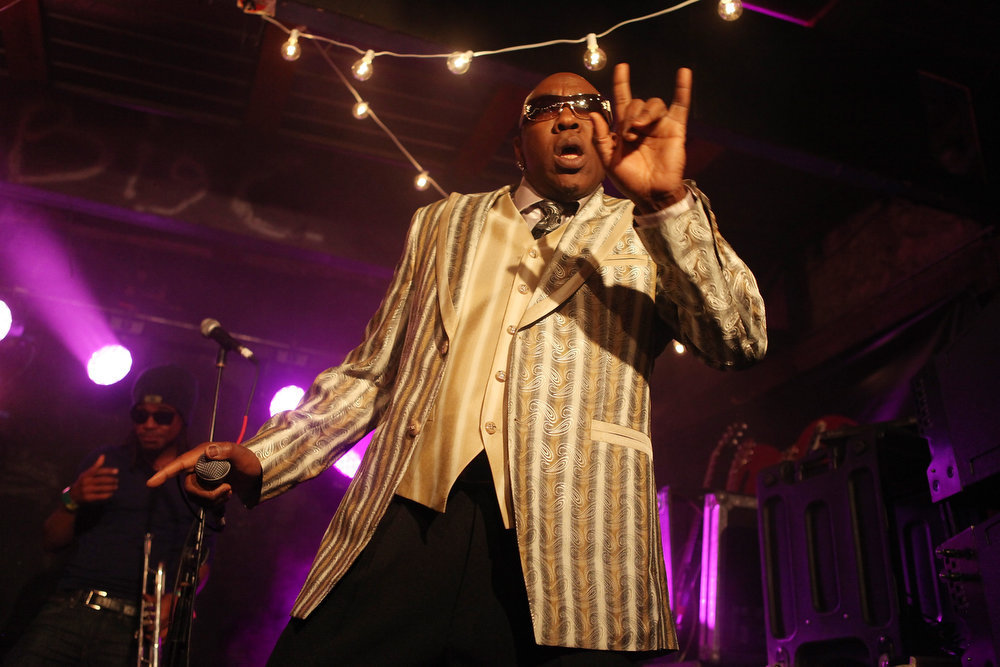 . Wanz performs onstage at the iHeartRadio Official SXSW Showcase on March 12, 2013 in Austin, Texas.  (Photo by Roger Kisby/Getty Images for iHeartradio)