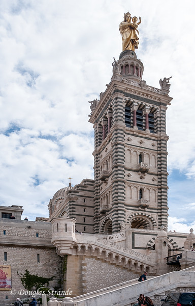 Marseille, France: Tower of Notre-Dame de la Garde