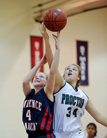 LA girls' basketball v. Proctor