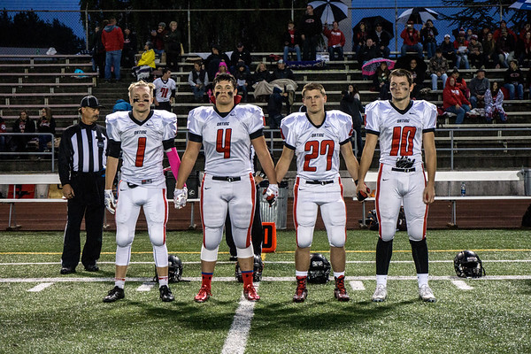 Orting Football Vs Franklin Pierce 2015
