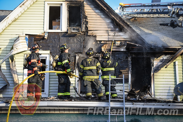 Luzerne County - Hazleton City - Dwelling Fire - 11/23/2019