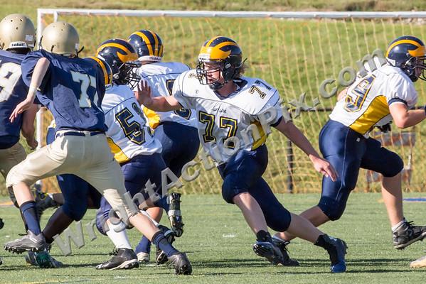 3025 09 16 Clarkston Freshman Football vs Stoney Creek