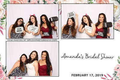Amanda's Bridal  Shower