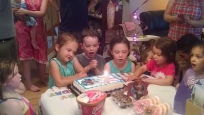 Aubrey's Birthday Party - July 2015