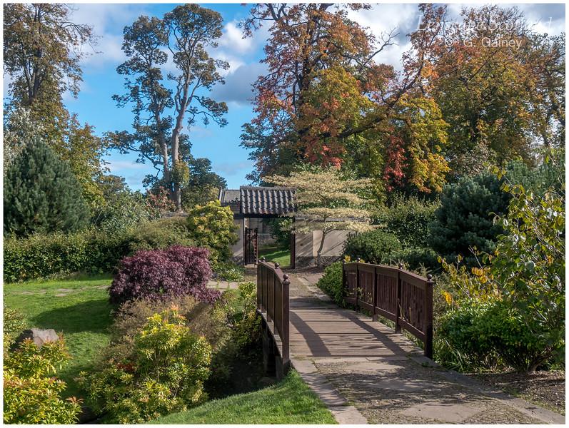 Edinburgh Kyoto Friendship Garden, Lauriston Castle (1)