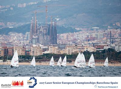 2017 Laser Senior European Championships, Barcelona, Spain