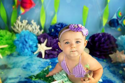 Brielle Mermaid 1st Bday!