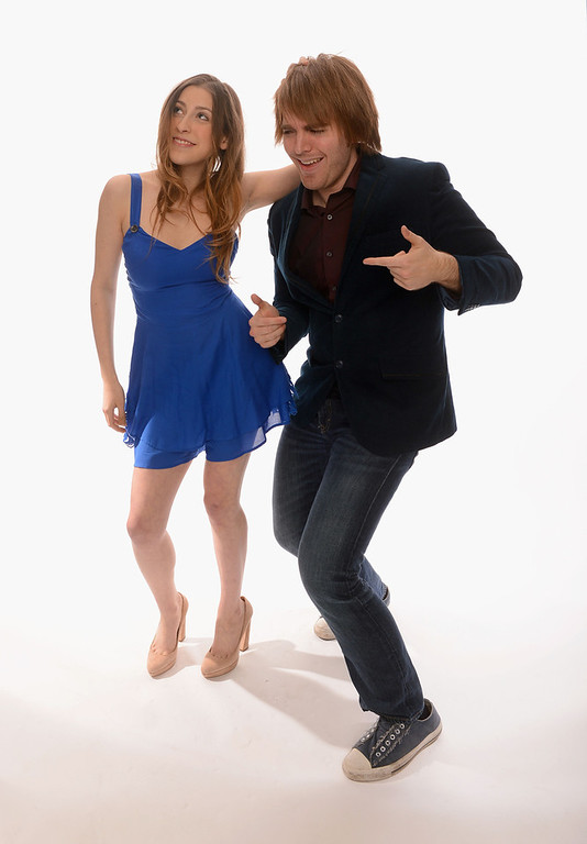 . Internet personalities Eden Sher and Shane Dawson pose for a portrait in the TV Guide Portrait Studio at the 3rd Annual Streamy Awards at Hollywood Palladium on February 17, 2013 in Hollywood, California.  (Photo by Mark Davis/Getty Images for TV Guide)