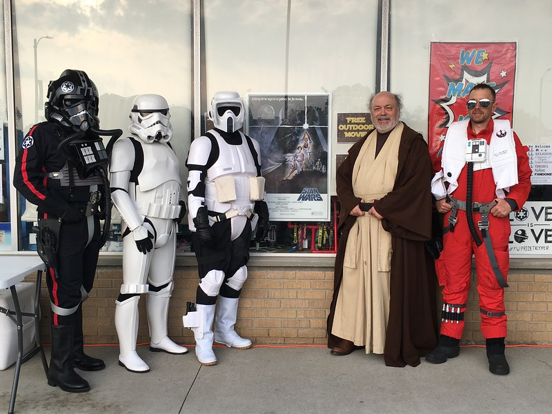 19May18, Free movie showing at Sweets So Geek, Fort Wayne IN