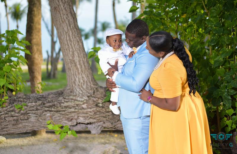 Lashanna Pyfrom baby christening
