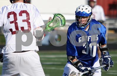 Mon Don Boys Lacrosse vs TR South 4-09