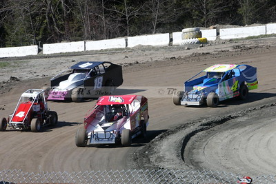 Bear Ridge Speedway-Fireside Inn, West Lebanon, NH 04/30/16