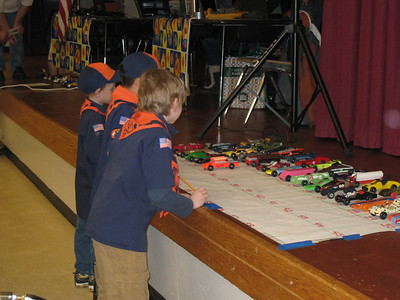 Pinewood Derby - 2010