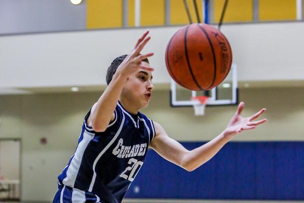 Feb 27 - Basketball - 8th Gr Gold vs Holy Family