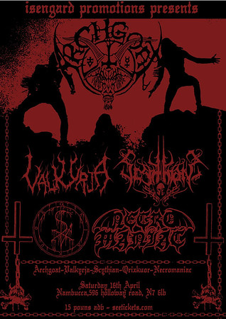VALKYRJA - Nambucca, London 16/4 2016