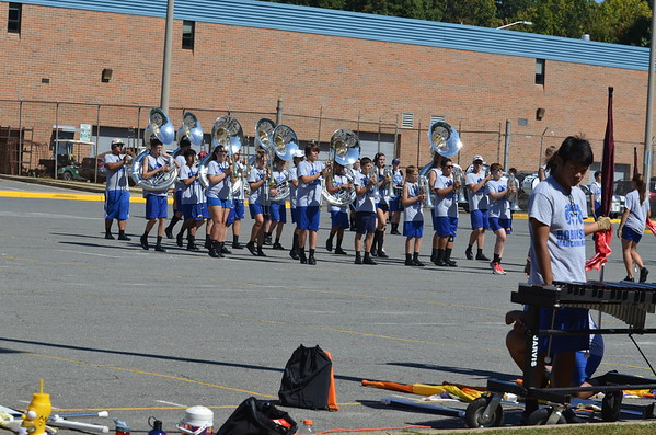 Marching Rams 2014