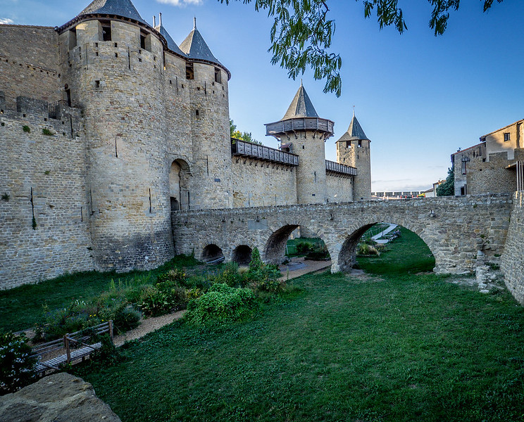 Inside the walls - Carcassonne, France